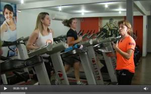 Exercício físico e dieta balanceada como preparação para Meia das Cataratas