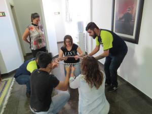 As atividades compreenderam interação entre participantes e dinâmicas em grupo - Foto Marcos Labanca