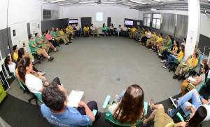 Atividades compreenderam interação entre participantes e dinâmicas em grupo - Foto Marcos Labanca