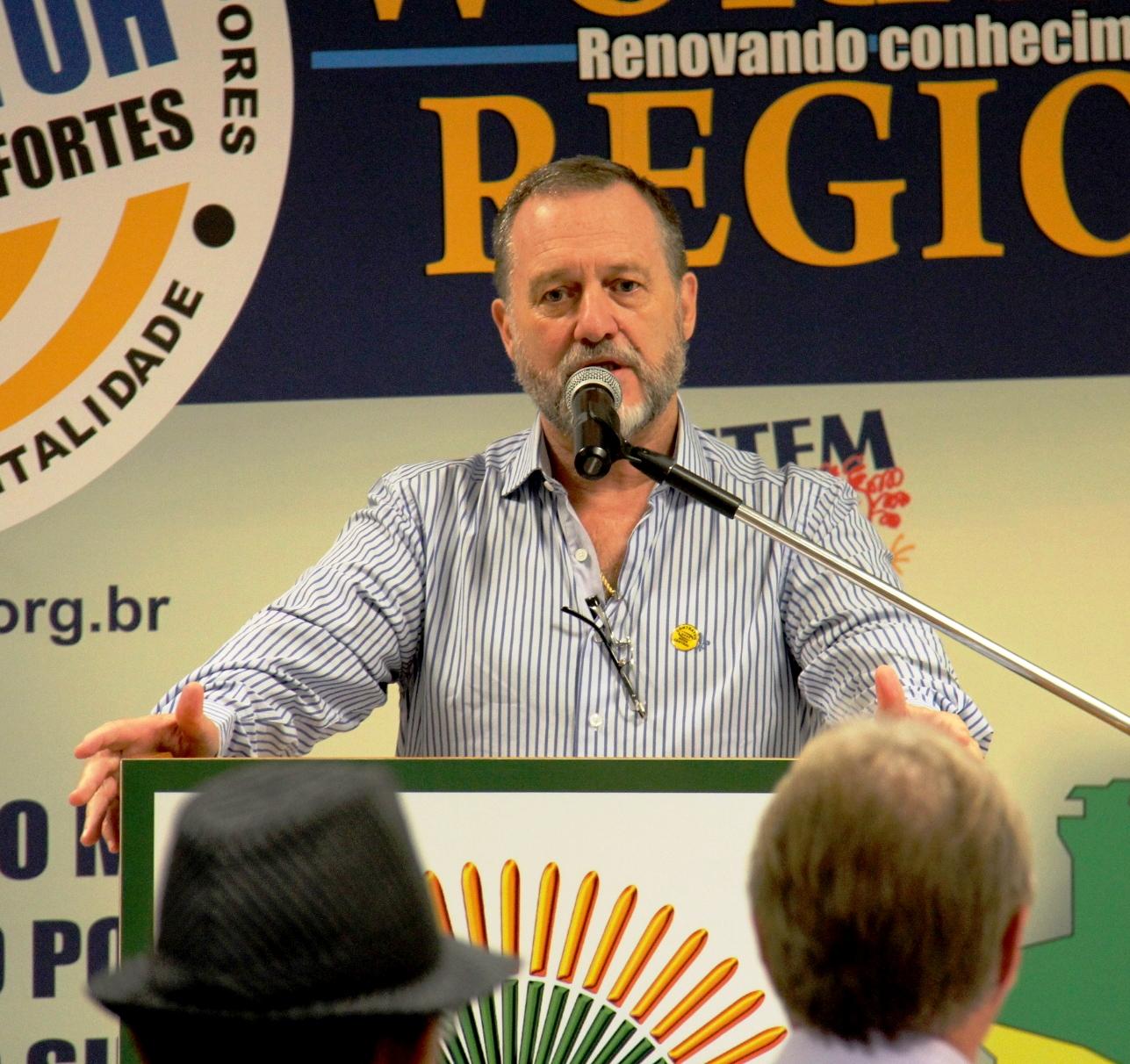CONTRATUH presidente nacional da entidade fará a abertura do congresso.
