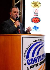 Presidente da Contratuh ressaltou a qualidade das discussões no evento - Foto Marcos Labanca