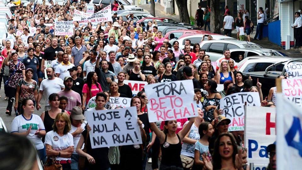 Campanha salarial e mobilizações na pauta da assembleia - foto Marcos Labanca