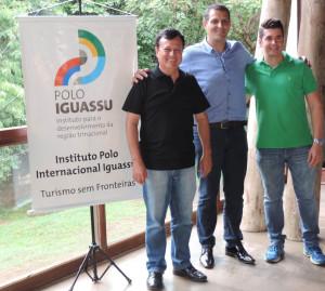 Nova diretoria Licério Santos, Luiz Moreira e Jaime Mendes