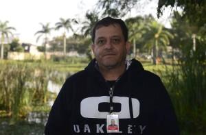 Rubens André, gestor de bacias da Itaipu