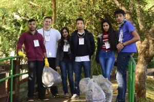 Trilheiros limparam o Parque Monjolo - Foto Marcos Labanca