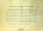 Carta do Ministério Trabalho transformando associação em sindicato, em 19 de maio de 1975