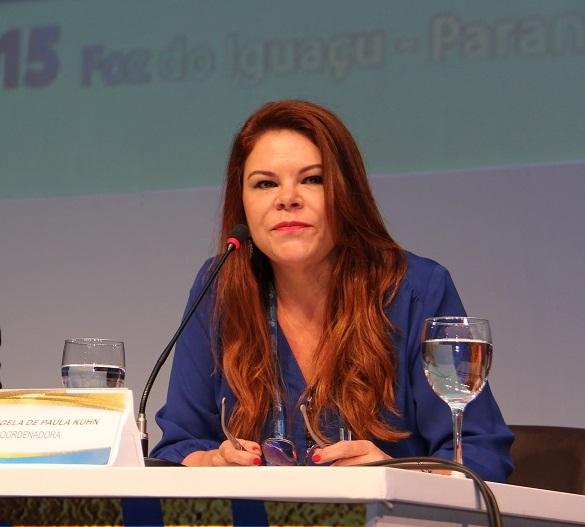 Elizangela de Paula Kuhn, vice-presidente de Desenvolvimento Profissional do CRC-PR - foto Divulgação