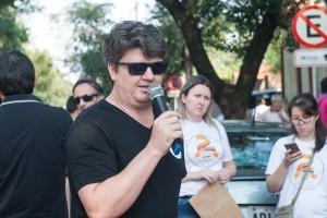 Ari Jarczewski - Valorizar a participação de cada educador na paralisação - foto Marcos Labanca