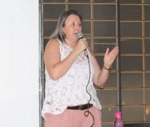 Cátia Castro, secretária de Formação da APP-Sindicato-Foz - foto Divulgação-Arquivo