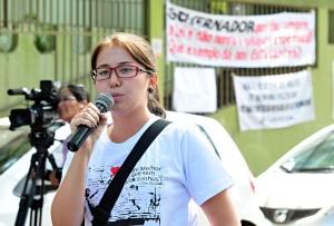 Miriam Takahashi, secretária de Comunicação da APP-Sindicato-Foz - foto Marcos Labanca