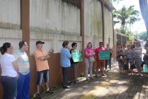 Educadores permanecem em vigilância até assembleia da categoria - foto APP-Sindicato-Foz