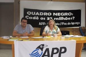 Proposta de greve será apresentada na Assembleia Estadual - foto APP-Sindicato-Foz
