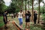 Crianças também terão a pista de desafios para percorrer, com a supervisão da equipe da organização - Foto divulgação