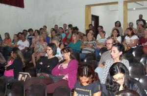 Evento reúne educadores e estudantes da região Oeste - foto APP-Sindicato-Foz