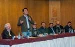 O candidato Ratinho Junior defendeu o turismo fator de desenvolvimento - foto Marcos Labanca