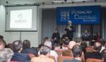 Participantes da reunião discutiram o modelo de implantação das lojas francas em Foz - foto Marcos Labanca