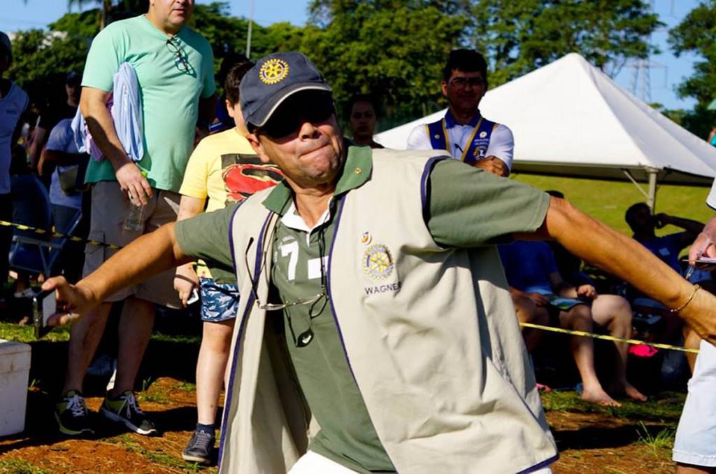 Lions Clube Foz do Iguaçu Cataratas apoia a coleta de resíduos eletrônicos. Foto divulgação